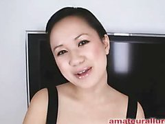 Carmina is a beautiful 20 year old Oriental student, with a cute little body and an extraordinary lust for rod. It appears that Carmina has sucked off about 50 guys! That's a big number for somebody still in college. This Playgirl is also blessed with not having a gag reflex so that sweetheart is able to take a penis down her face hole out of an issue. Amazing! After that sweetheart deep face holes my shlong numerous times, I bend her over and fuck her taut little hairless fur pie. This Playgirl craves my load in her mouth, so shen receives on her knees and recieves my full cum shot into her face hole and swallows it down. This Playgirl is a excellent dick sucker and a great fucking lay.